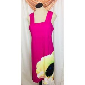 Cynthia Rowley Flower Sleeveless Dress
